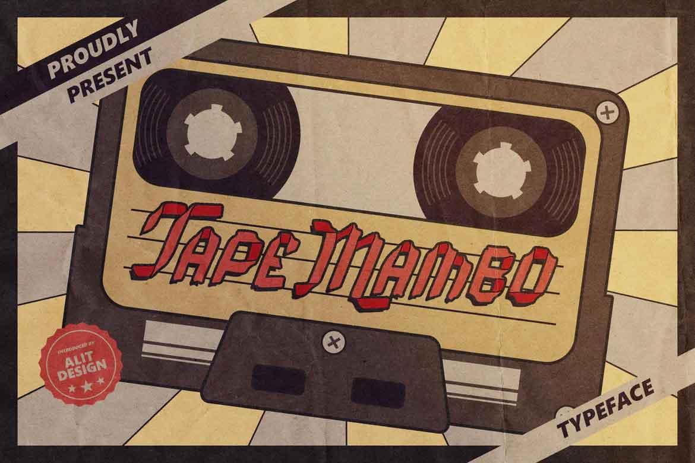 Tape Mambo Font