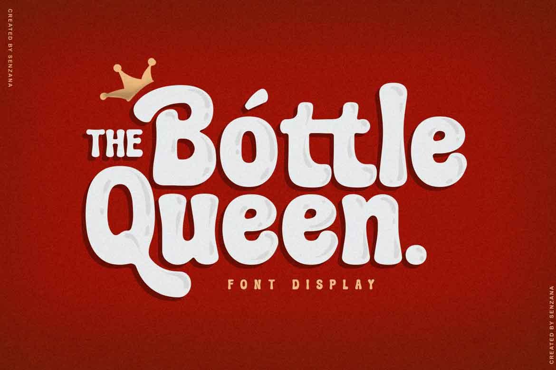 The Bottle Queen Font