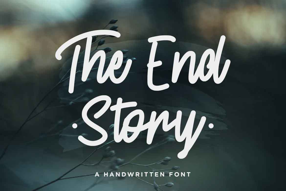 The End Story Font