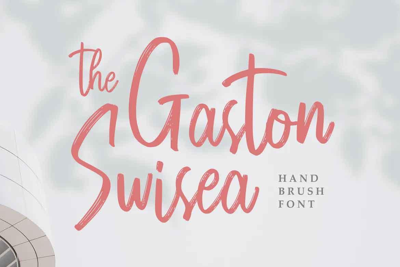 The Gaston Swisea Font