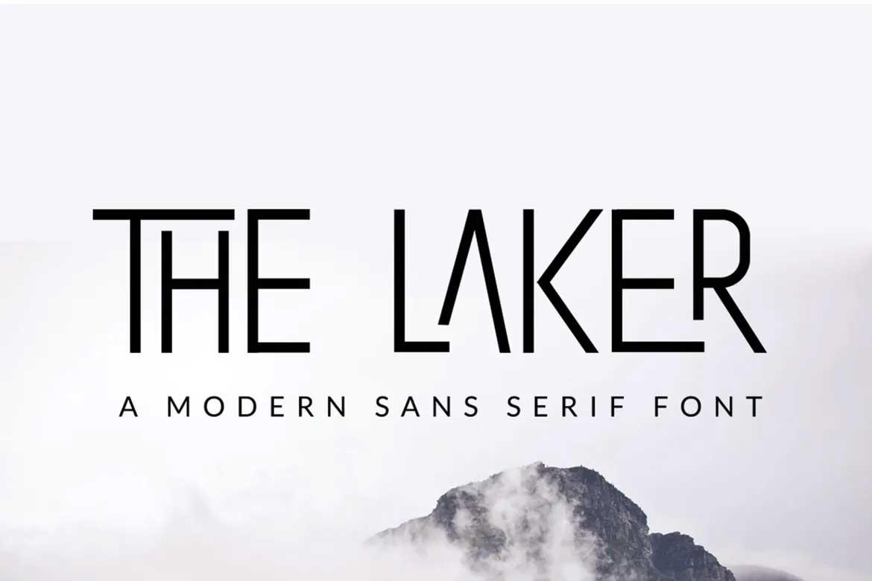 The Laker Font
