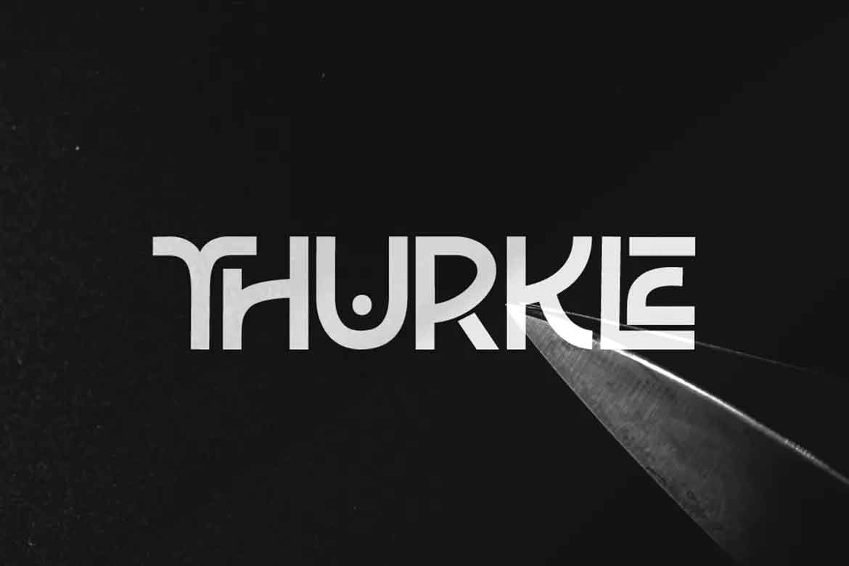 Thurkle Font