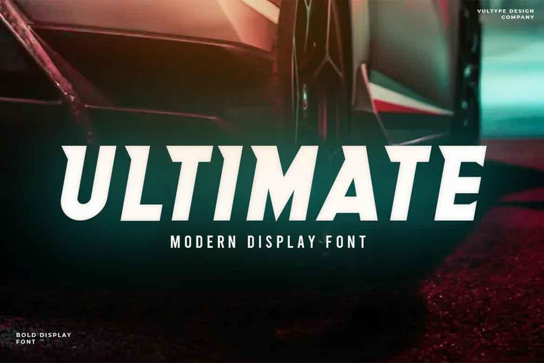 Ultimate Font
