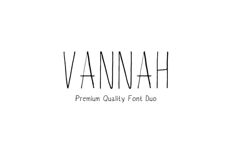 Vannah Font Duo