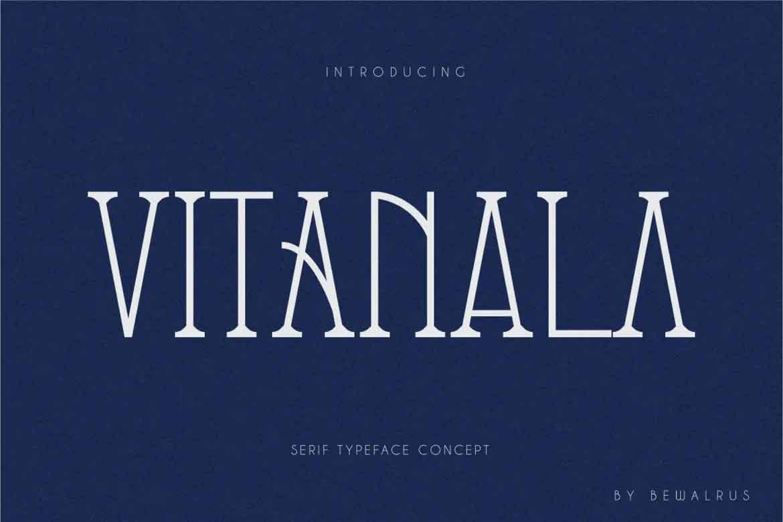 Vitanala Font