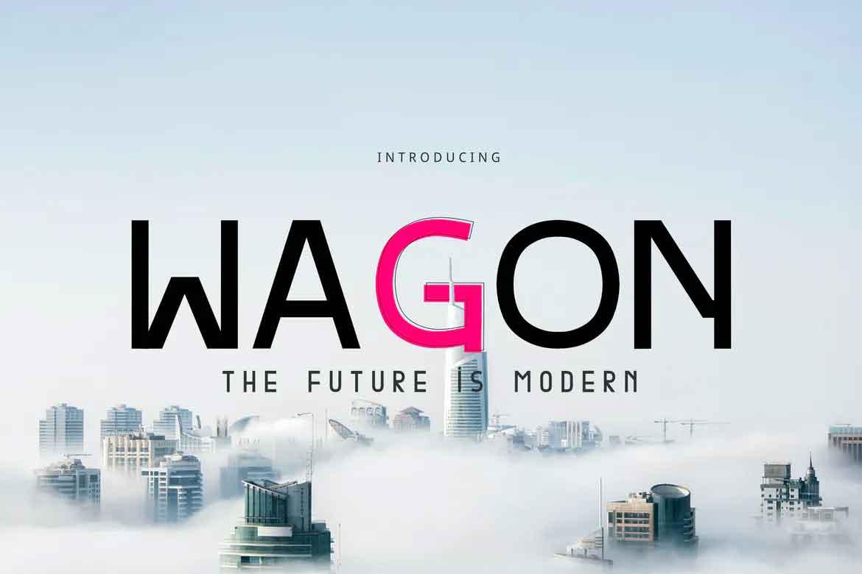 Wagon Font
