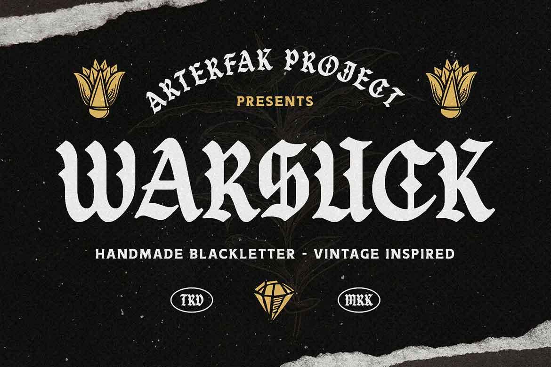 Warsuck Font
