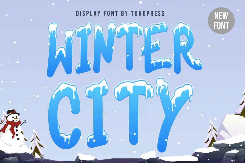 Winter City Font