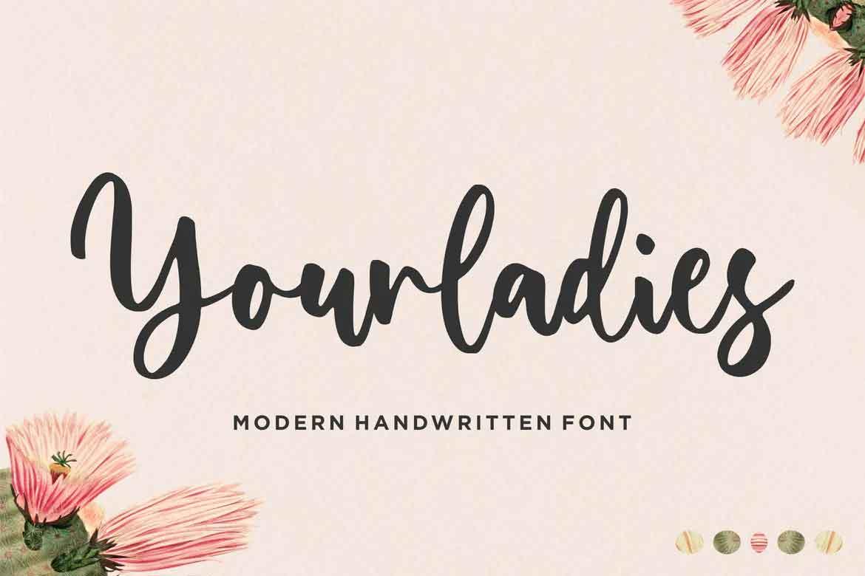 Yourladies Font