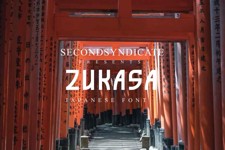 Zukasa Japanese Font