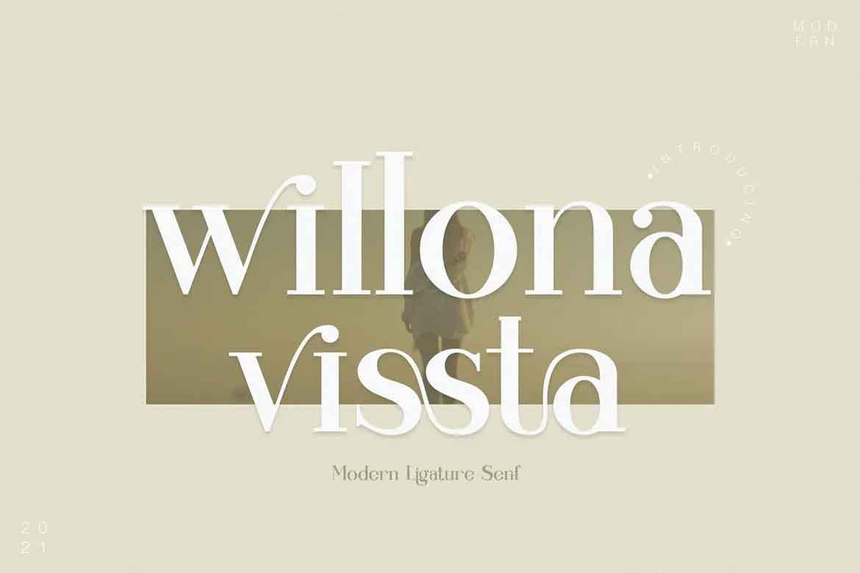 Willona Vissta Font
