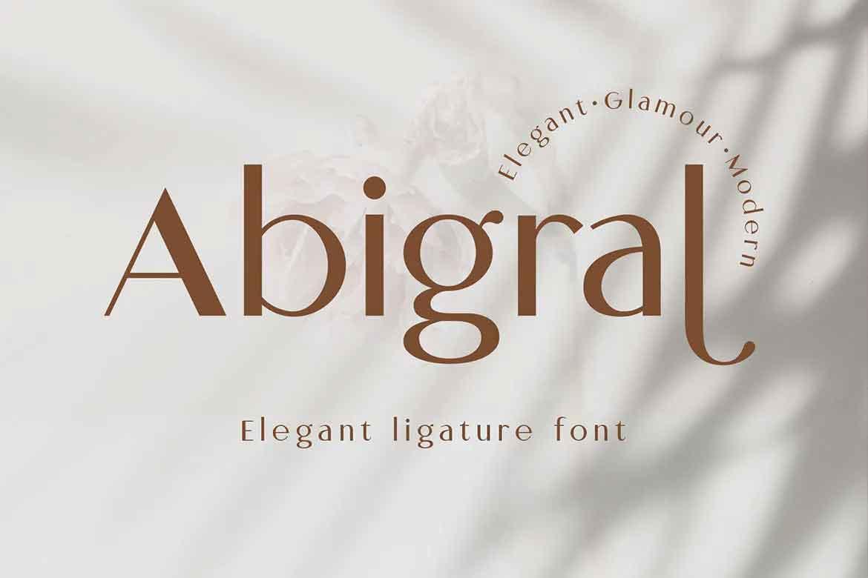Abigral Font
