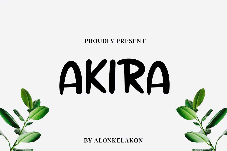 Akira Font
