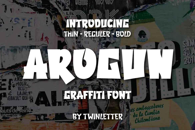 Arogun Font