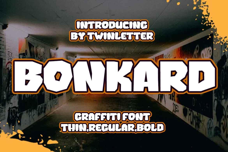Bonkard Font