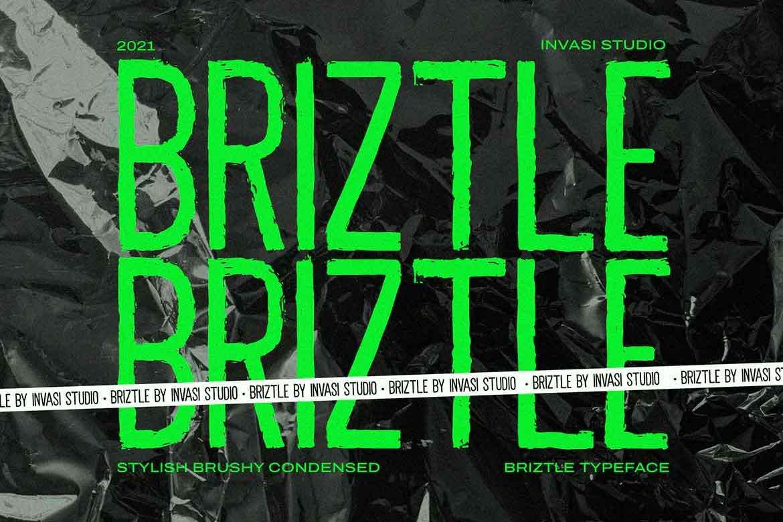 Briztle Condensed Font