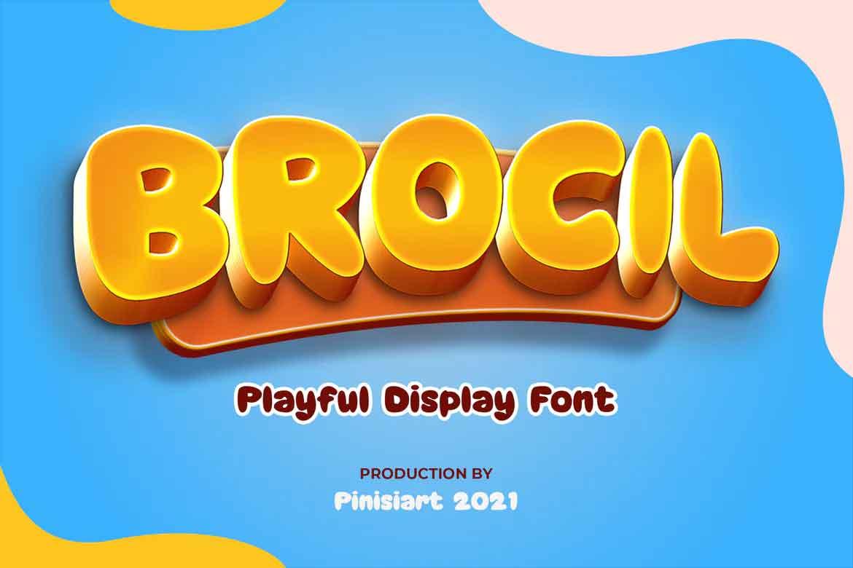 Brocil Font