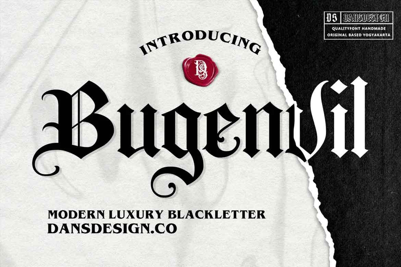 Bugenvil Font