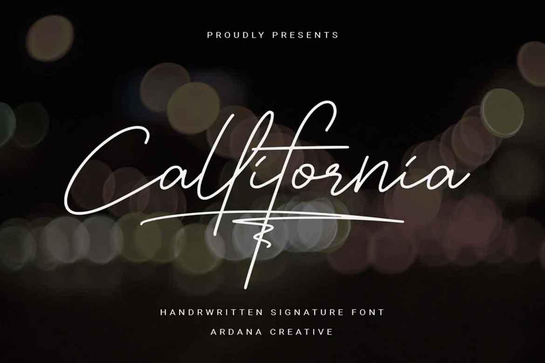 Callifornia Font
