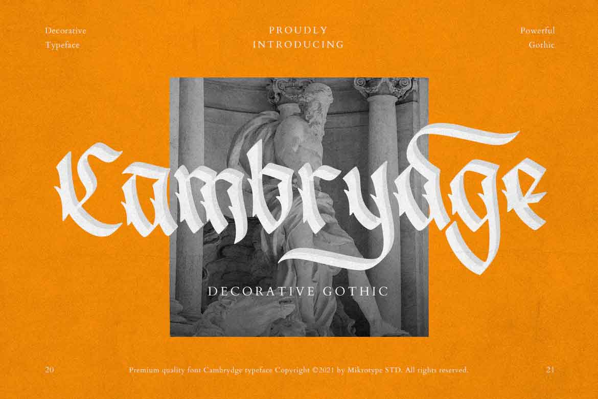 Cambrydge Font
