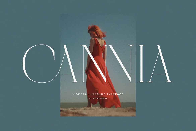 Cannia Font