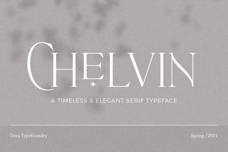 Chelvin Font