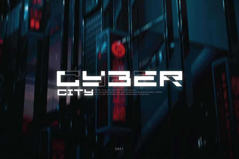 Cyber City Font