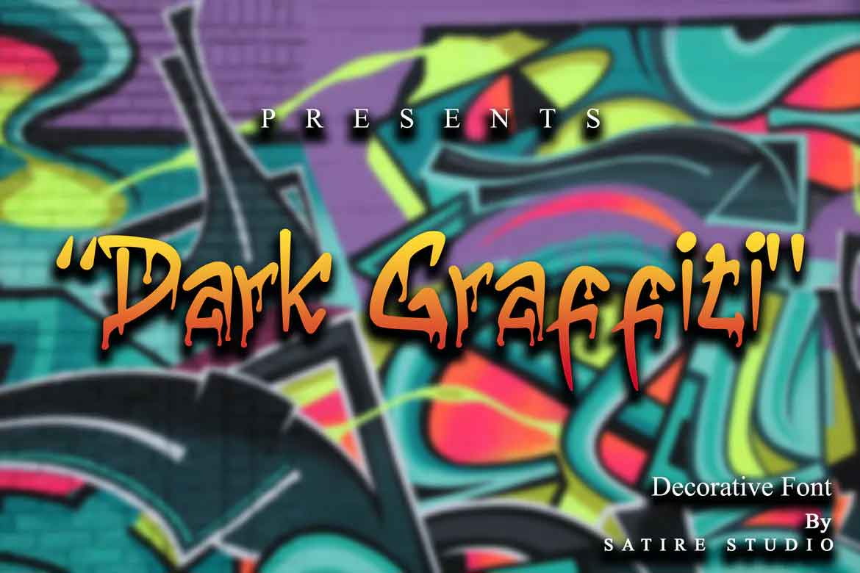 Dark Graffiti Font