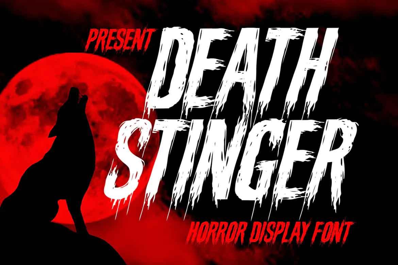 Death Stinger Font