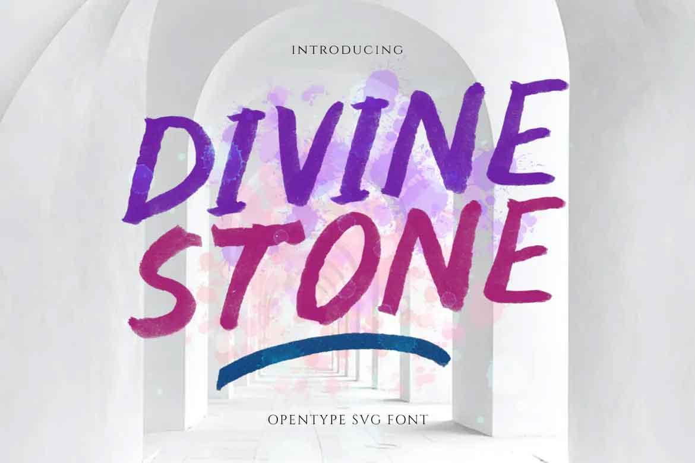 Divine Stone Font