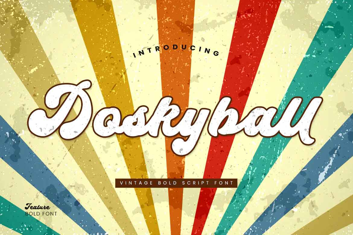 Doskyball Font
