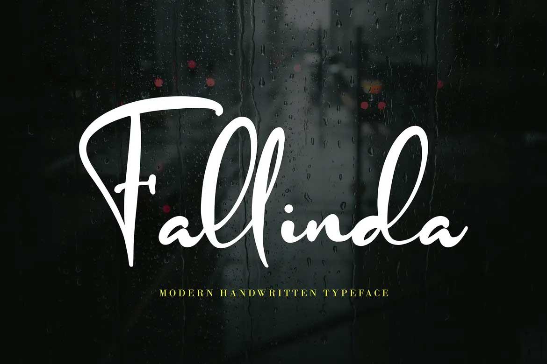 Fallinda Font