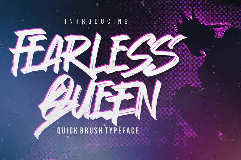 Fearless Queen Font