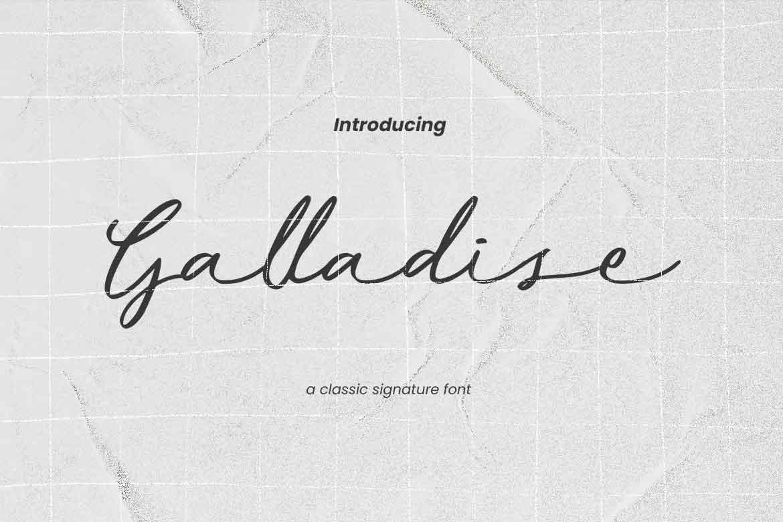 Galladise Font