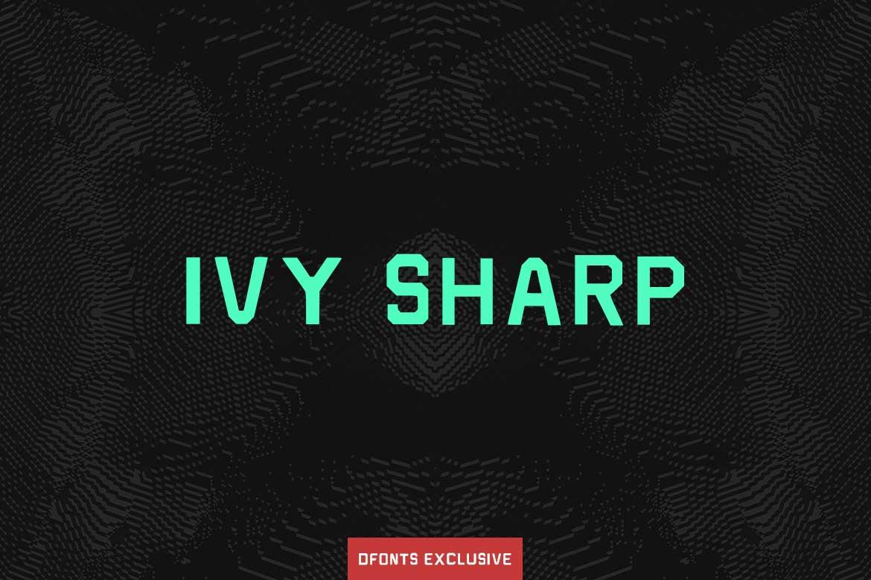Ivy Sharp Font