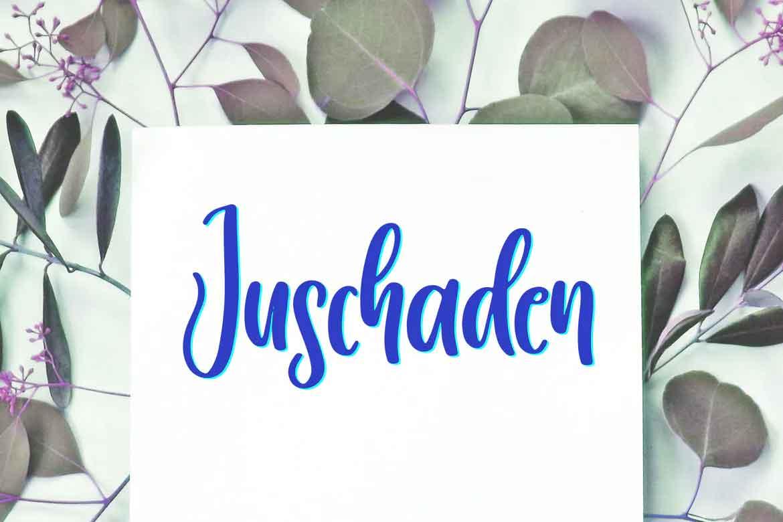 Juschaden Font