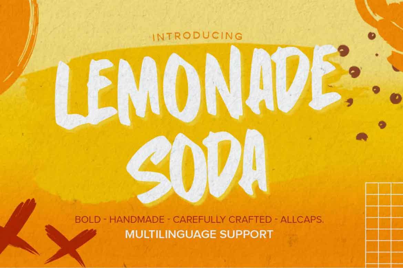 Lemonade Soda Font