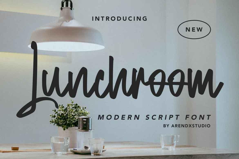 Lunchroom Font
