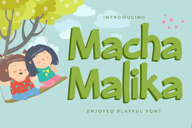 Macha Malika Font