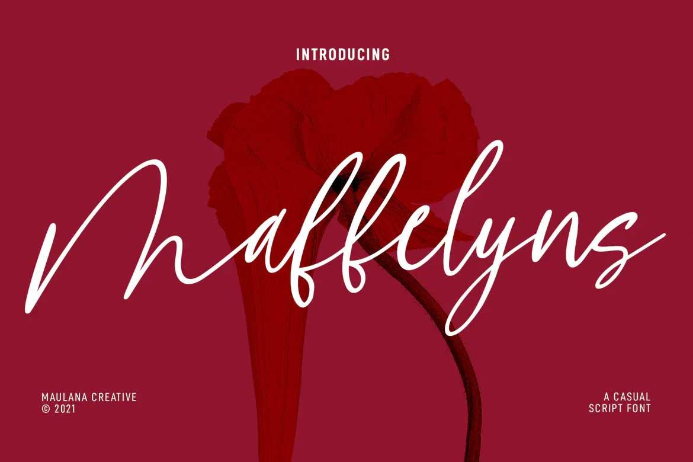 Maffelyns Font