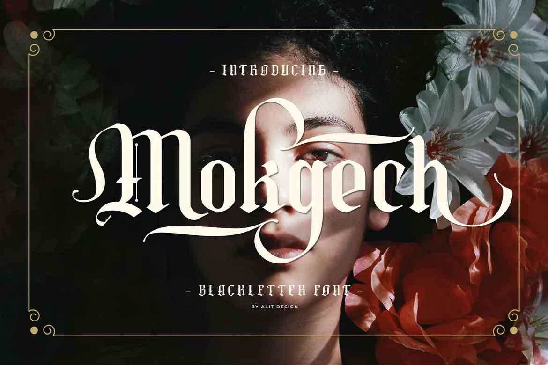 Mokgech Font