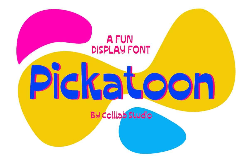 Pickatoon Font