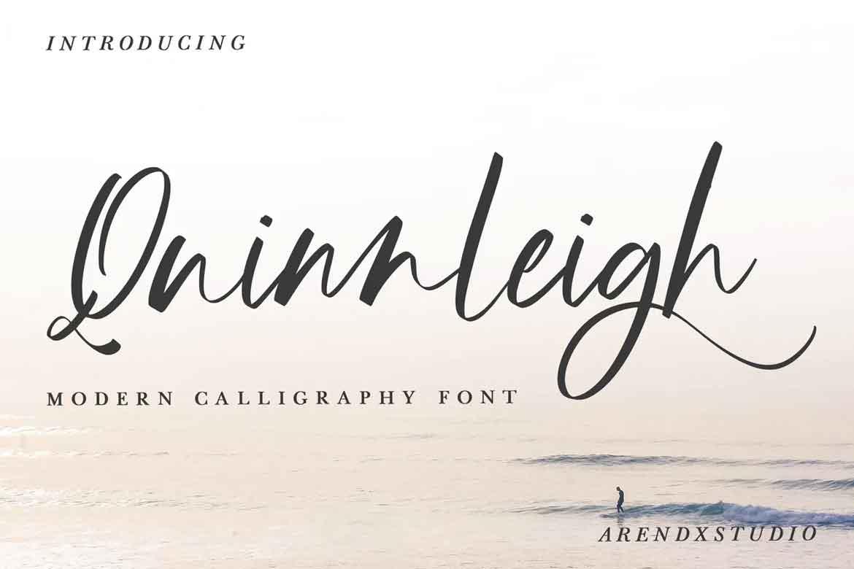 Quinnleigh Font