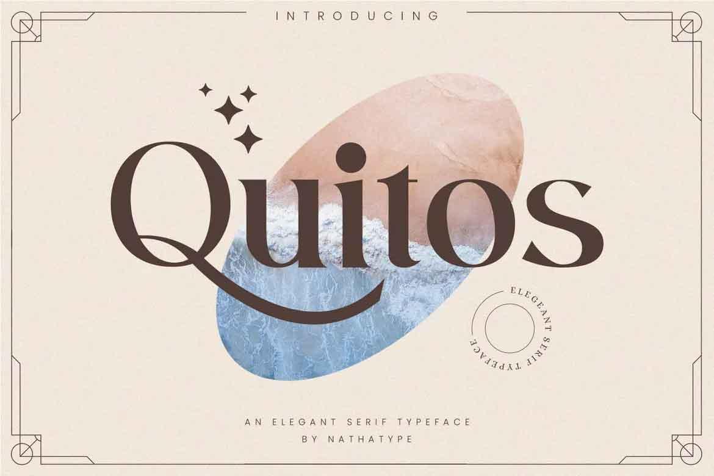 Quitos Font
