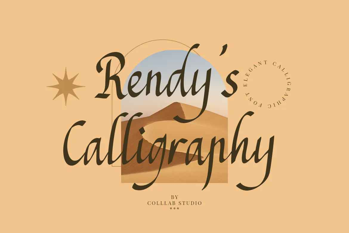 Rendy's Calligraphy Font