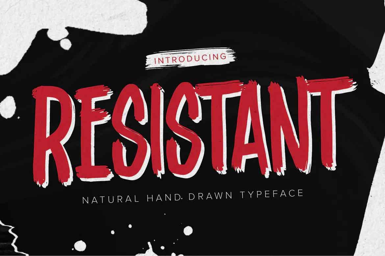 Resistant Font