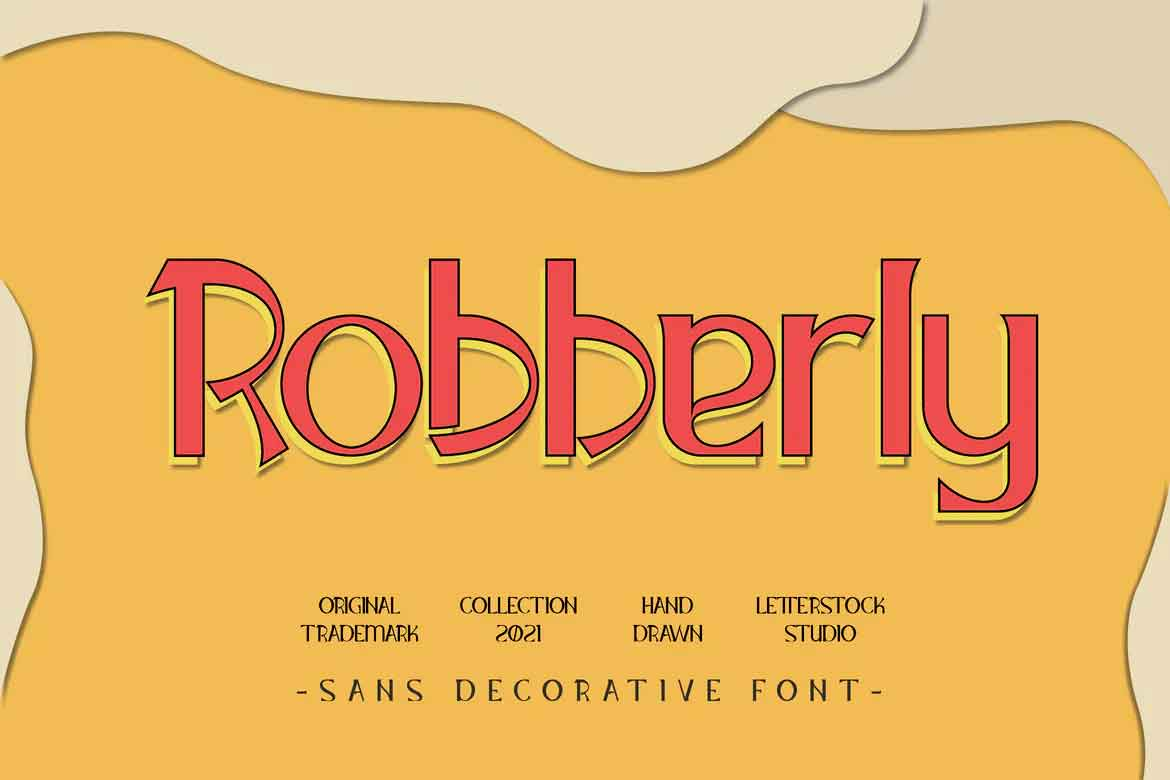 Robberly Font