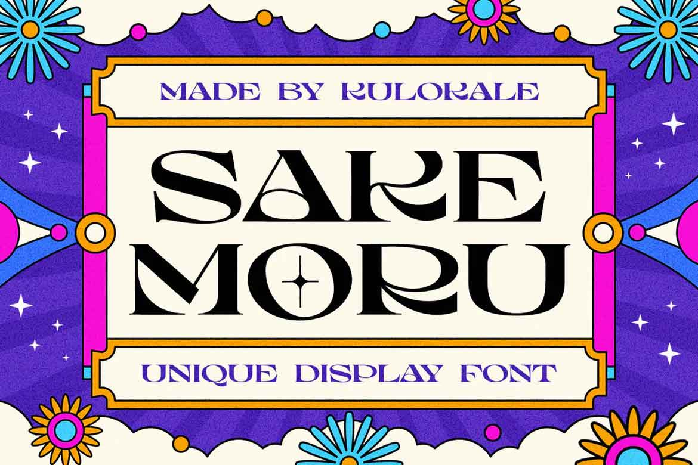 Sake Moru Font