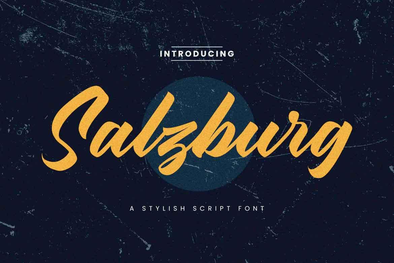 Salzburg Font