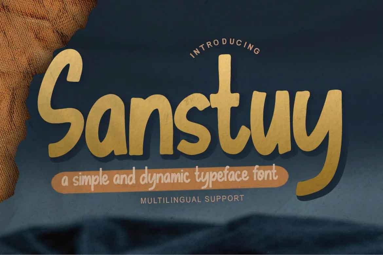 Sanstuy Font